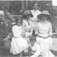 ECBevan in suffragist hat (002).png